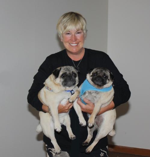 SueNewman+Pugs
